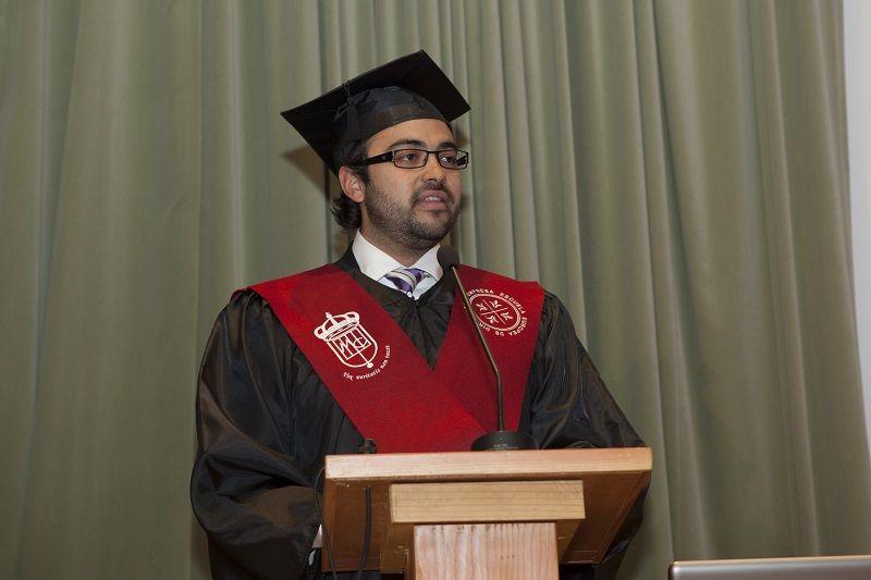Discurso de Alumno de EUDE Business School durante la Graduación