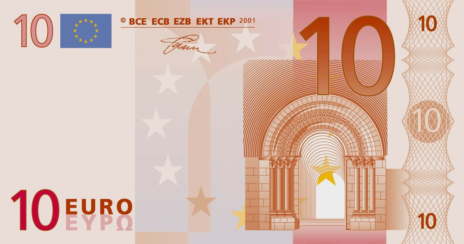 Entran en circulaci n los nuevos billetes de 10 euros for Manana abren los bancos en espana