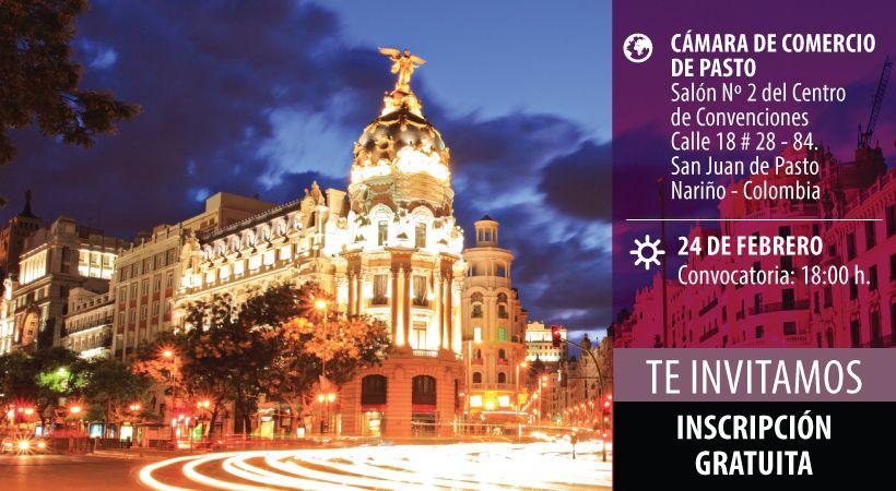Conferencia en Colombia sobre claves del postgrado en Europa