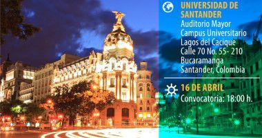 Foto de - Conferencia en UDES. Las claves del postgrado en Europa