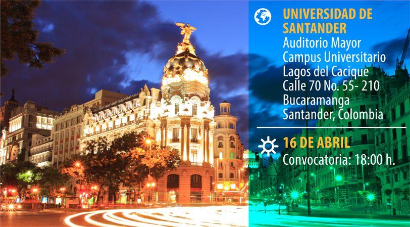 Foto - Conferencia en UDES. Las claves del postgrado en Europa
