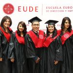 Acto de graduación de EUDE Business School