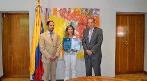 Entrega 3 Becas Honoríficas a El Salado (Colombia)