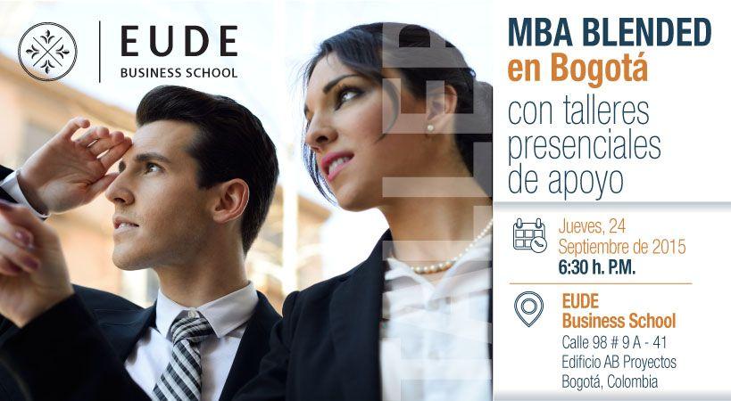 Foto - EUDE presenta el nuevo Máster MBA Blended en Bogotá