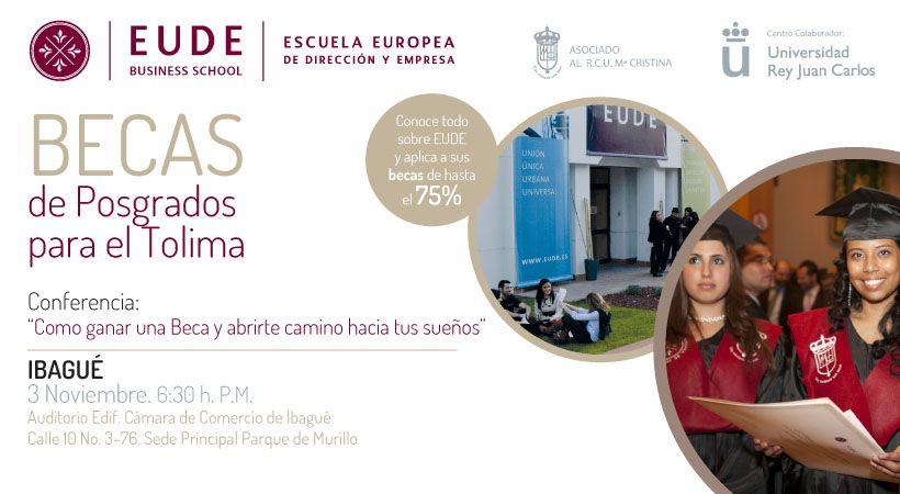 Foto - EUDE en IBAGUÉ (Colombia). Las claves de estudiar una Maestría en Europa