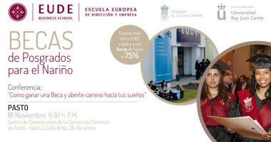 Foto de - EUDE en PASTO (Colombia). Las claves de estudiar una Maestría en Europa