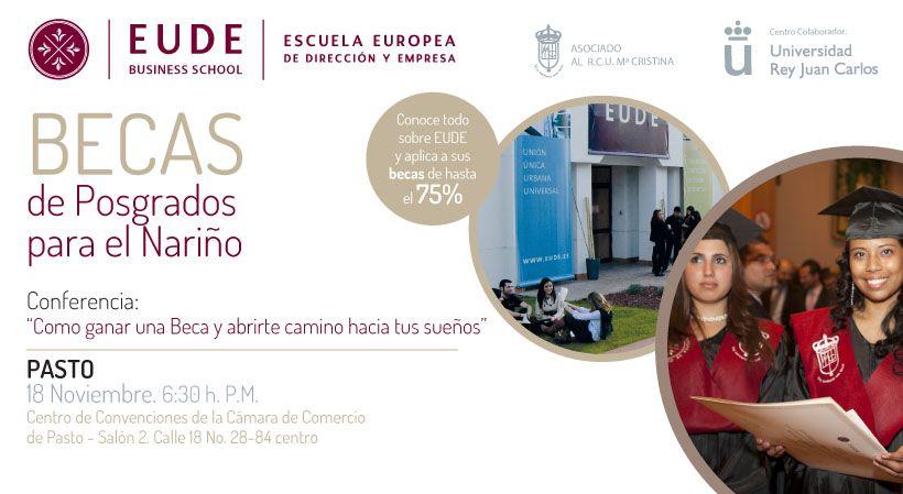 Foto - EUDE en PASTO (Colombia). Las claves de estudiar una Maestría en Europa