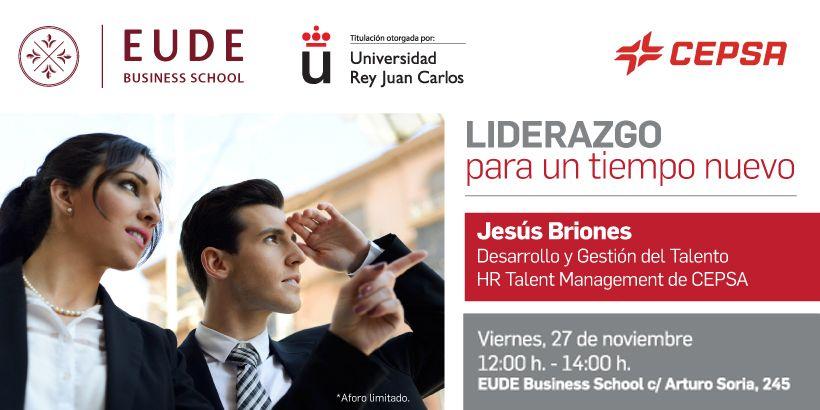 Foto - Conferencia con Jesús Briones, responsable RRHH en CEPSA