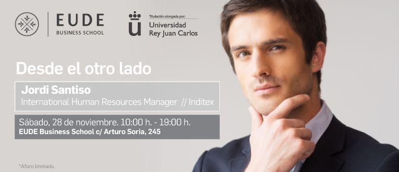 Foto - Seminario: ¡Desde el otro lado! con Jordi Santiso (Inditex)