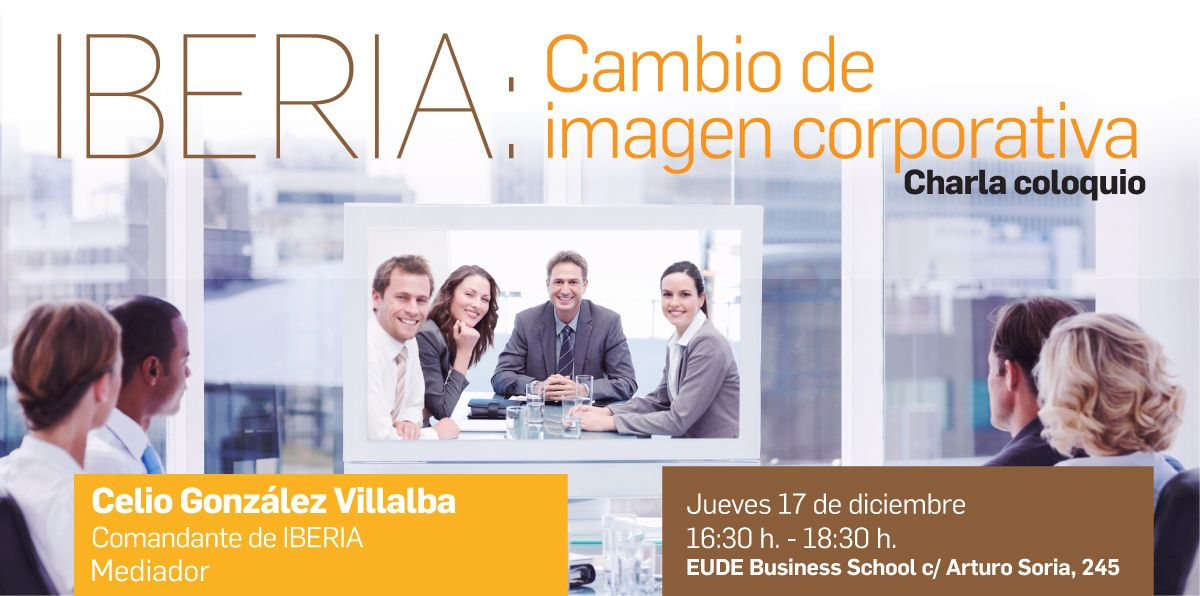 Foto - IBERIA Cambio de imagen corporativa – EUDE Business School