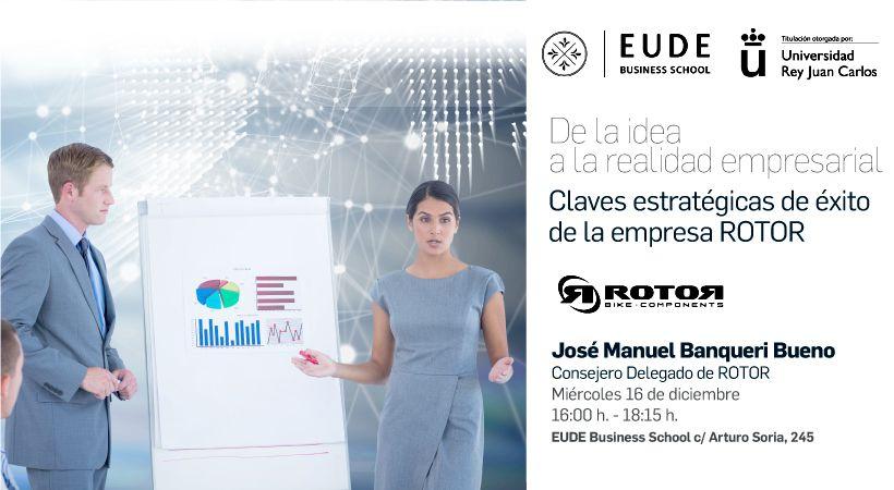 Conferencia EUDE de Jose Manuel Banqueri Bueno y el caso ROTOR