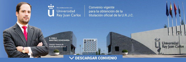 Convenio URJC - EUDE