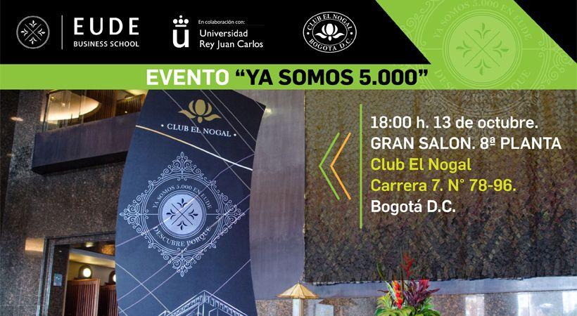 Foto - Evento 'Ya somos más de 5.000' – Club El Nogal Colombia