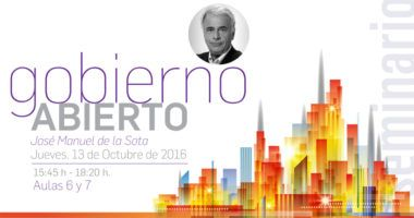 Foto de - Conferencia de Jose Manuel de la Sota 'Gobierno Abierto'