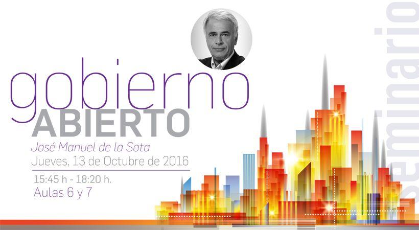 Foto - Conferencia de Jose Manuel de la Sota 'Gobierno Abierto'