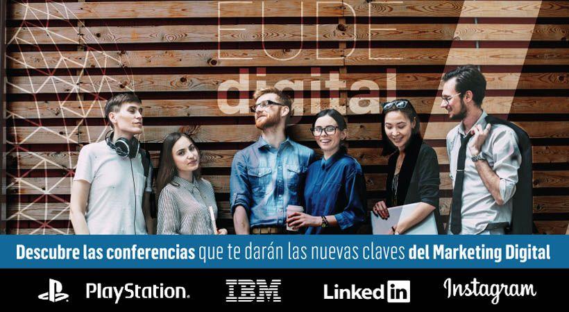 conferencias sony ibm instagram linkedin