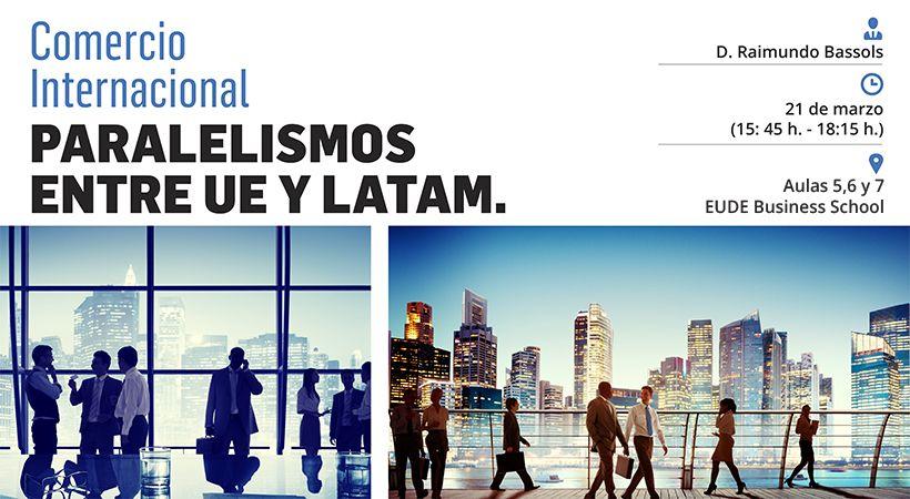 """Foto - Seminario """"Comercio Internacional: Paralelismos entre UE y LATAM"""""""
