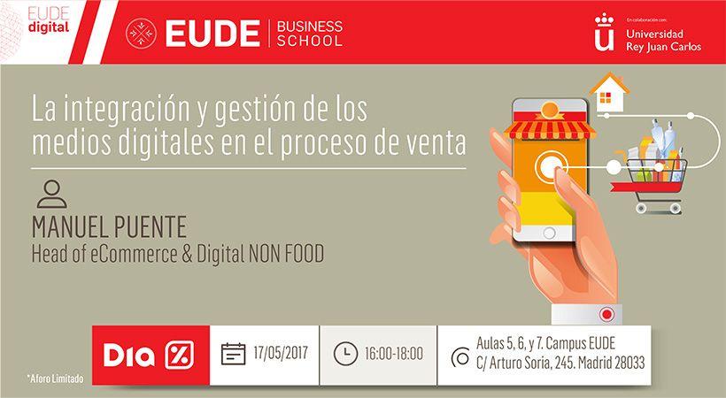 """Foto - Seminario """"La integración y gestión de los medios digitales en el proceso de venta"""" Head of E-commerce de Supermercados DIA"""