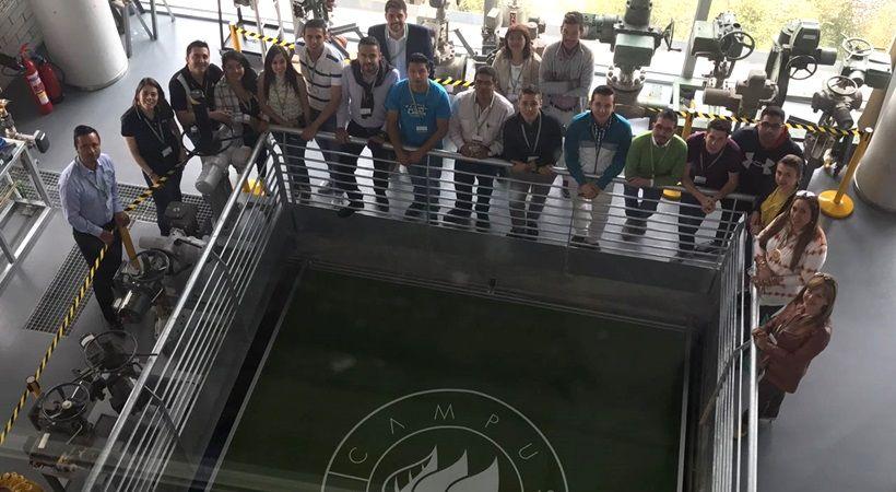 Iberdrola estudiantes de EUDE