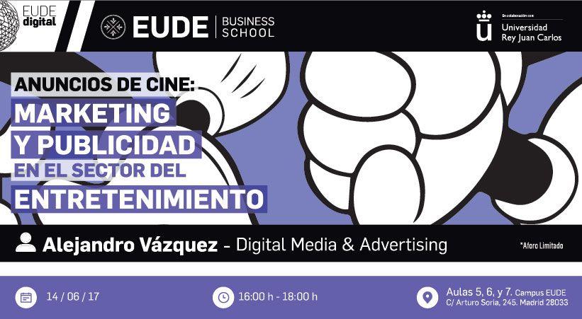 """Foto - Seminario """"Anuncios de cine: Marketing y Publicidad en el sector del entretenimiento"""""""