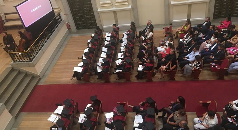graduación de la promoción Junio 2016-2017