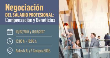 Seminario Negociación de salario profesional, compensación y beneficios en EUDE