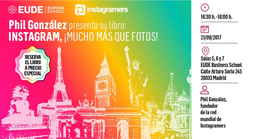 """Foto - #EUDE: Presentación libro """"Instagram, ¡Mucho más que fotos!"""""""