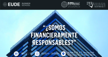 Somos financieramente responsables