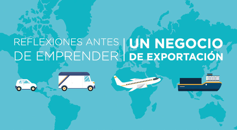 emprender un negocio de exportacion
