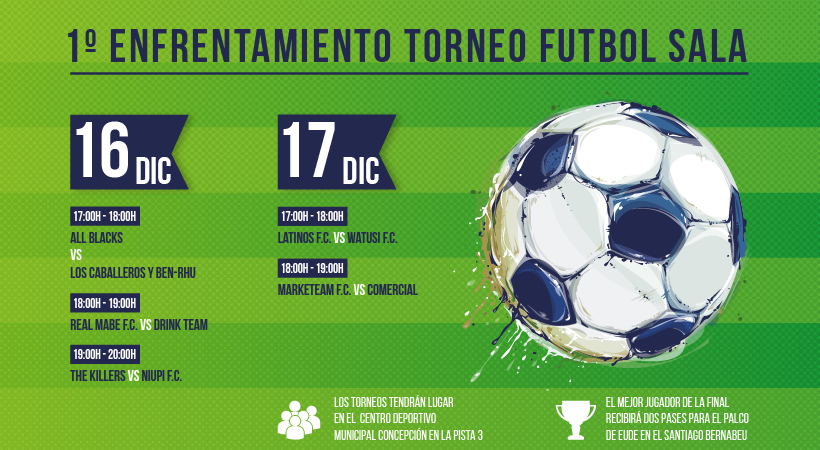 Foto - II Torneo Fútbol Alumnos EUDE Business School