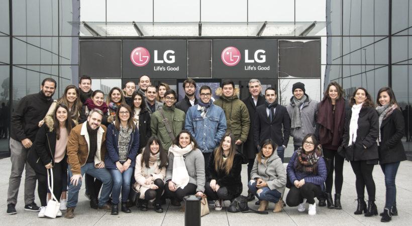 Visita a las instalaciones de LG