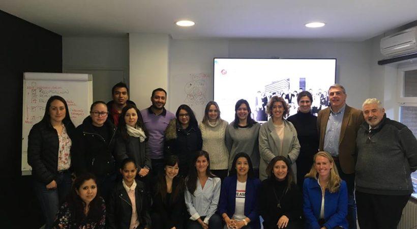 Los alumnos de EUDE Business School visitan la Fundación Mashumano