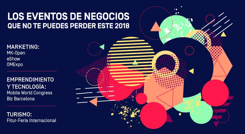 Eventos de negocios en 2018