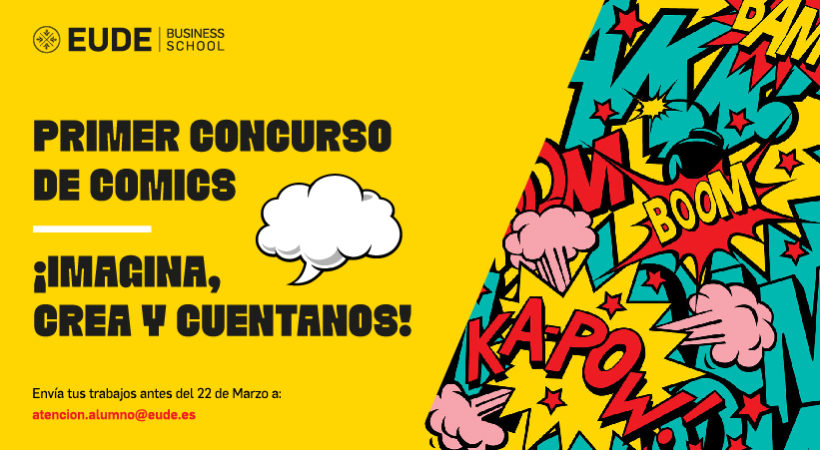 Primer concurso de cómics en EUDE Business School