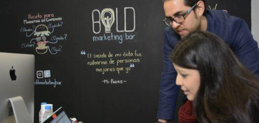 'Bold Marketing Bar'