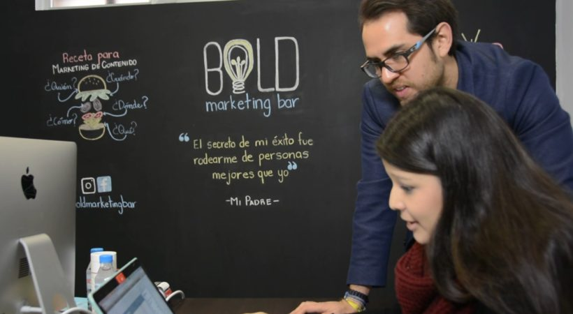 'Bold Marketing Bar'