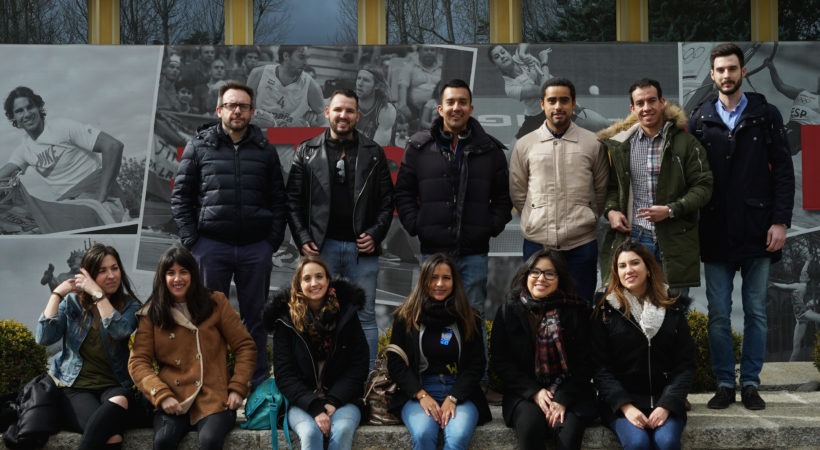 Los alumnos de EUDE Business School visitan el CAR