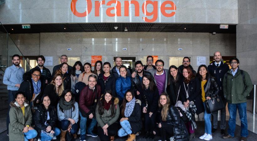 Orange presenta sus últimas novedades a los alumnos de EUDE