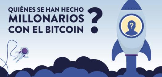 Las grandes fortunas millonarias del Bitcoin