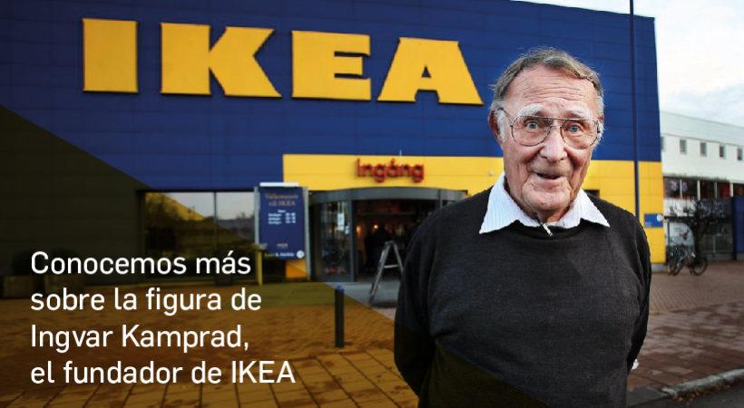 Ingvar Kamprad, el fundador de IKEA