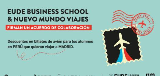 alianza eude business school y nuevo mundo viajes peru