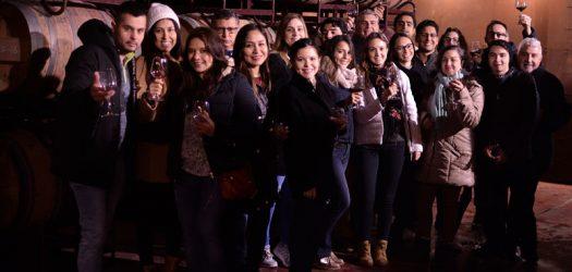 Los alumnos de EUDE visitan la Bodega El Regajal