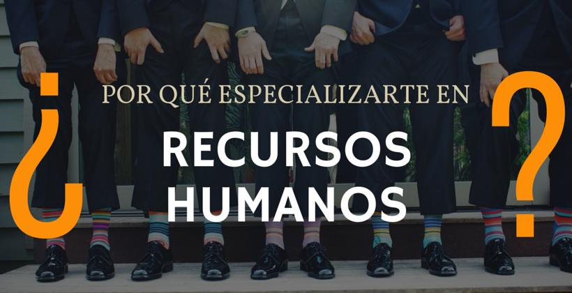 especializarte en Recursos Humanos