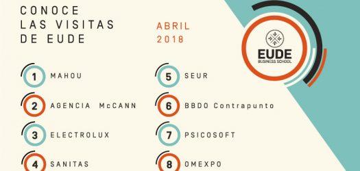 actividades de EUDE en abril