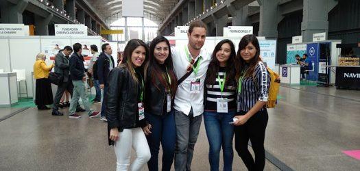estudiantes de eude presentes en openexpo