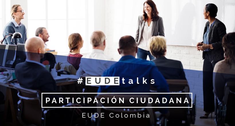 Foto - Conferencia en COLOMBIA: Participación ciudadana con Antonio Navarro Wolf