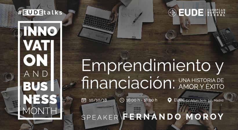 Foto - Conferencia Emprendimiento y financiación: una historia de amor y éxito