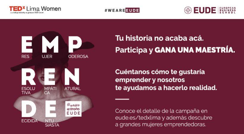 EUDE sponsor TEDxLima Women