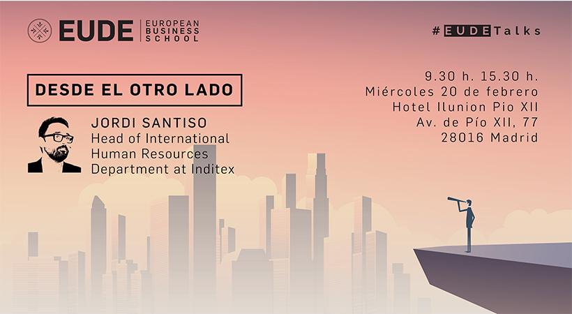 Foto - Seminario 'Desde el otro lado' a cargo de Jordi Santiso, Head of Internacional Human Resources de Inditex