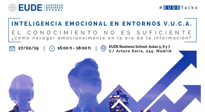 Foto - Seminario: Inteligencia emocional en entornos V.U.C.A (volatilidad, incertidumbre, complejidad y ambigüedad)